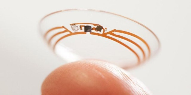 Google move forward with smart contact lens developments